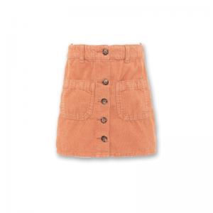 patti corduroy skirt logo