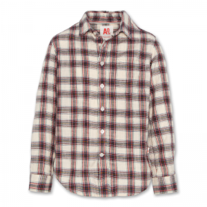 marjorie button down shirt logo