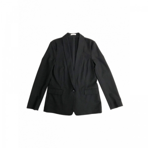 SHAWL COLLAR BLAZER COAL