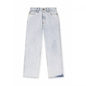High-waisted Cropped Jeans logo