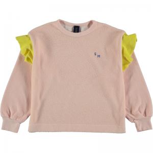 Sweatshirt frill logo