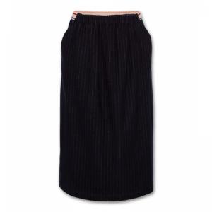 striped skirt logo