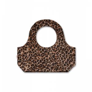 leopard bag logo