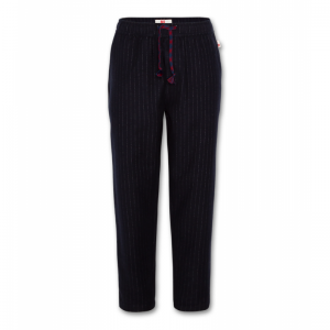 chalk stripe pants logo